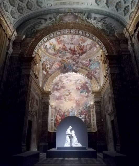 Luca Della Robbia, Visitazione (qui esposta nella Chiesa di San Leone fino al 7/1/2018)[Foto: Caterina Chimenti / Lonely Traveller]