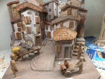 Opera in legno dell'artista Romeo Aldo Ferro