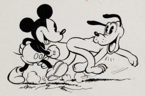 Fiorenzo Faorzi (da Walt Disney), finale 1937, acquerello, inchiostro di china su carta