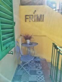 Un particolare degli spazi esterni di Frími Boutique Rooms