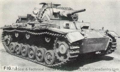 [Figure 1: German Panzer III (PzKw 3)]