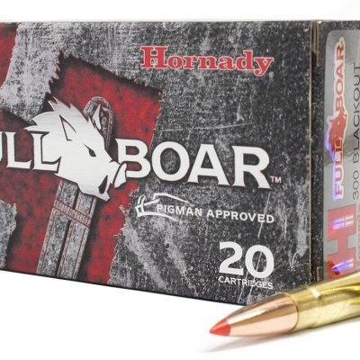Hornady Full Boar 300 BLK 110gr GMX