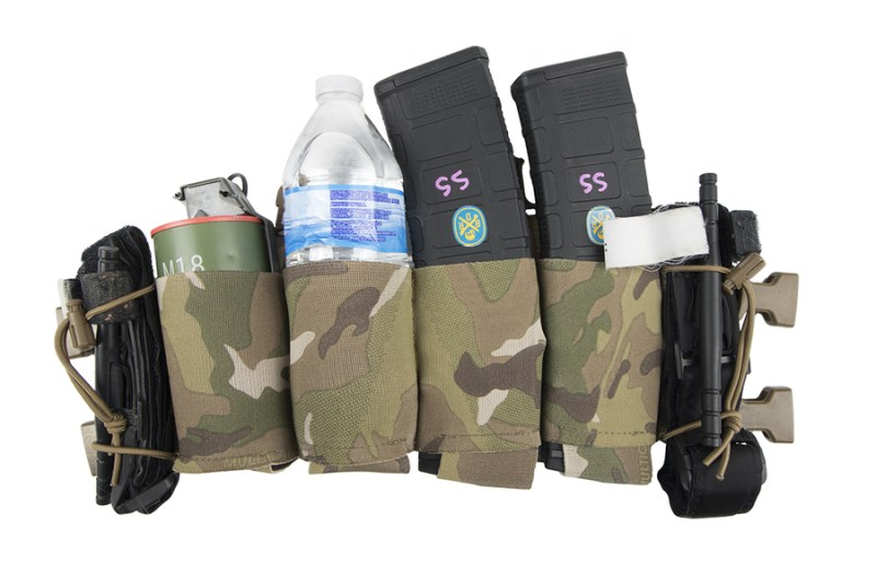 Spiritus Systems Bank Robber Chest Rig MultiCam