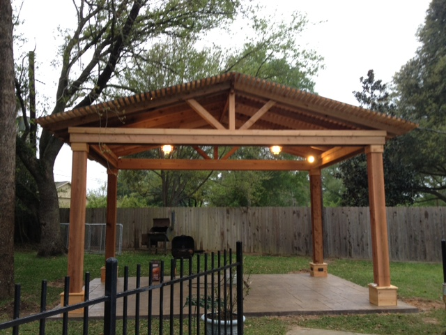 Covered Pergola Construction Lone Star Patio Builders