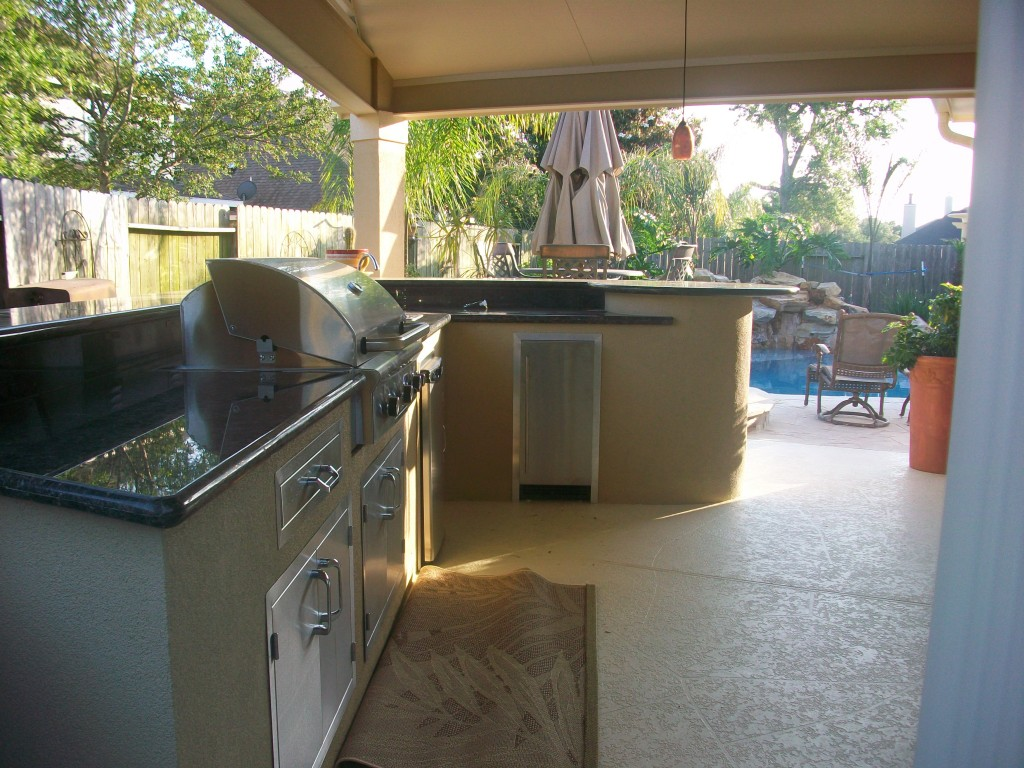 Outdoor Kitchens - Lone Star Patio Builders on Patio Kitchen id=63758