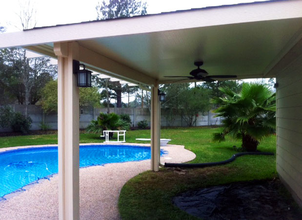Covered Patios In Kingwood Lone Star Patio Builders