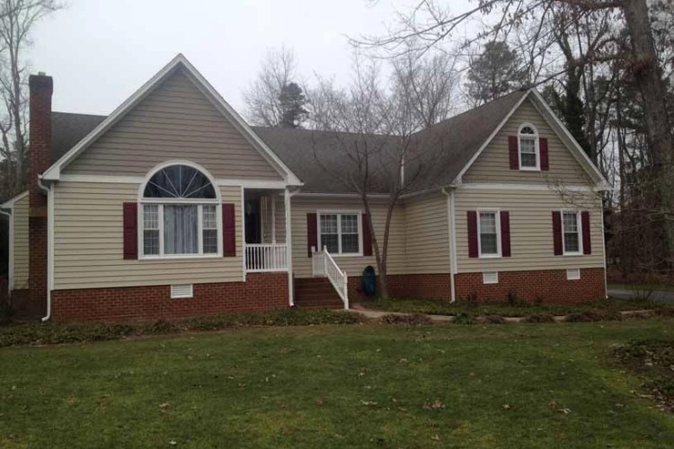 Another Solid Chesterfield Siding Replacement Project!