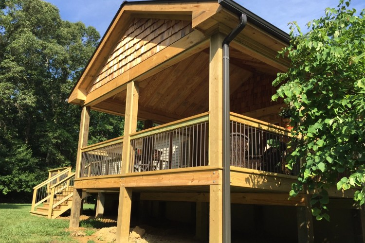 Lonestar Project Diary – The Bumpass Deck Replacement (and New Roof)!