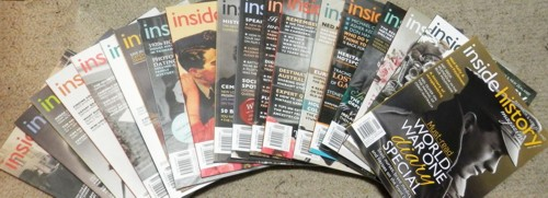 Inside History magazine issues 1-19