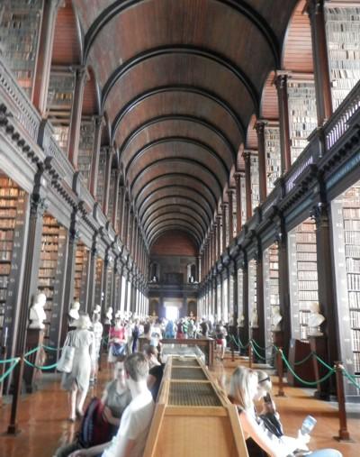 Trinity College Library, Dublin