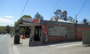Gumeracha deli (now known as the Top Shoppe) - October 2013