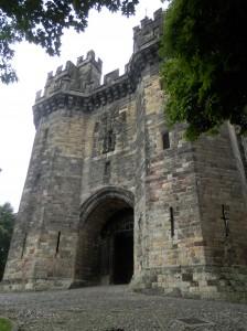 Lancaster Castle in Lancashire - taken August 2014