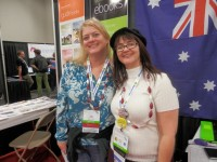 Amy Coffin with Alona Tester