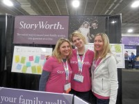 the StoryWorth girls: Kelsey, Hope and Krista