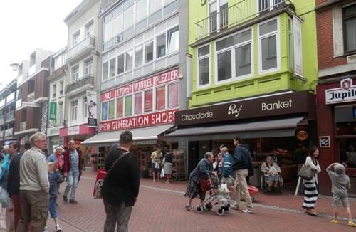 we found the shops in Blankenberge, Belgium