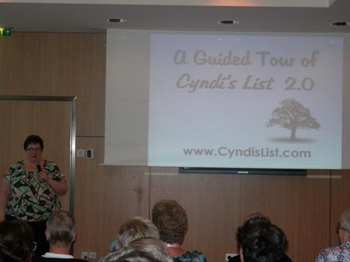 Cyndi Ingle talking about the new version of Cyndi's List