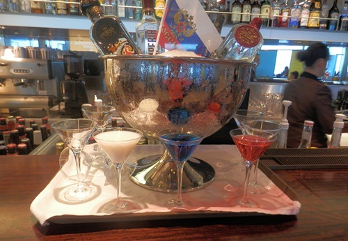 red, white or blue martinis anyone?