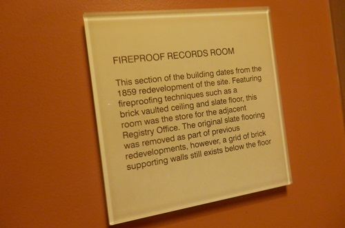 "the ""fire proof"" room at the Adina Apartments Hotel"