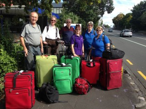 most of the Unlock the Past organising team, some speakers, and their luggage  used with permission of Helen Smith