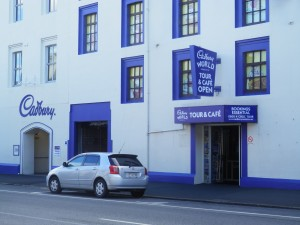 the Cadbury factory in Dunedin, New Zealand
