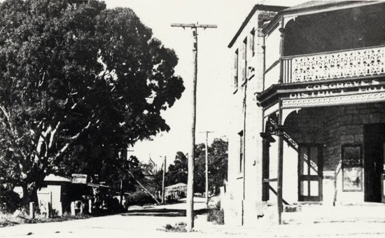 the Gumeracha Hotel in the 1950s