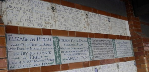 Postman's Park: Every Name Has a Story