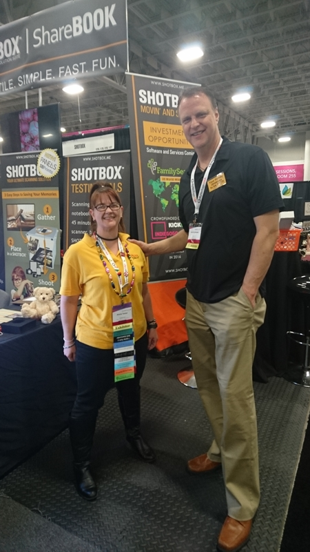 I admit I did feel rather tiny when I met Aaron Johnson, the creator of Shotbox