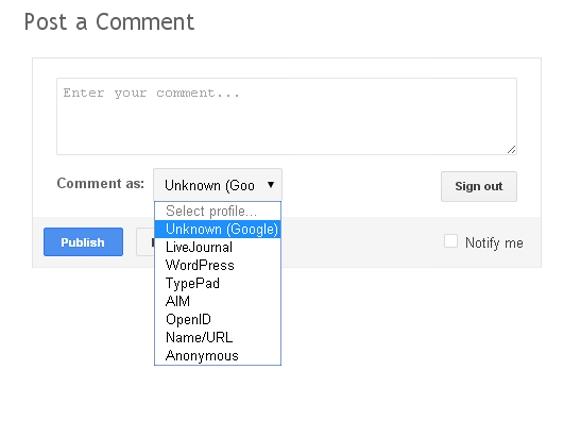 Blogger comment screenshot #3
