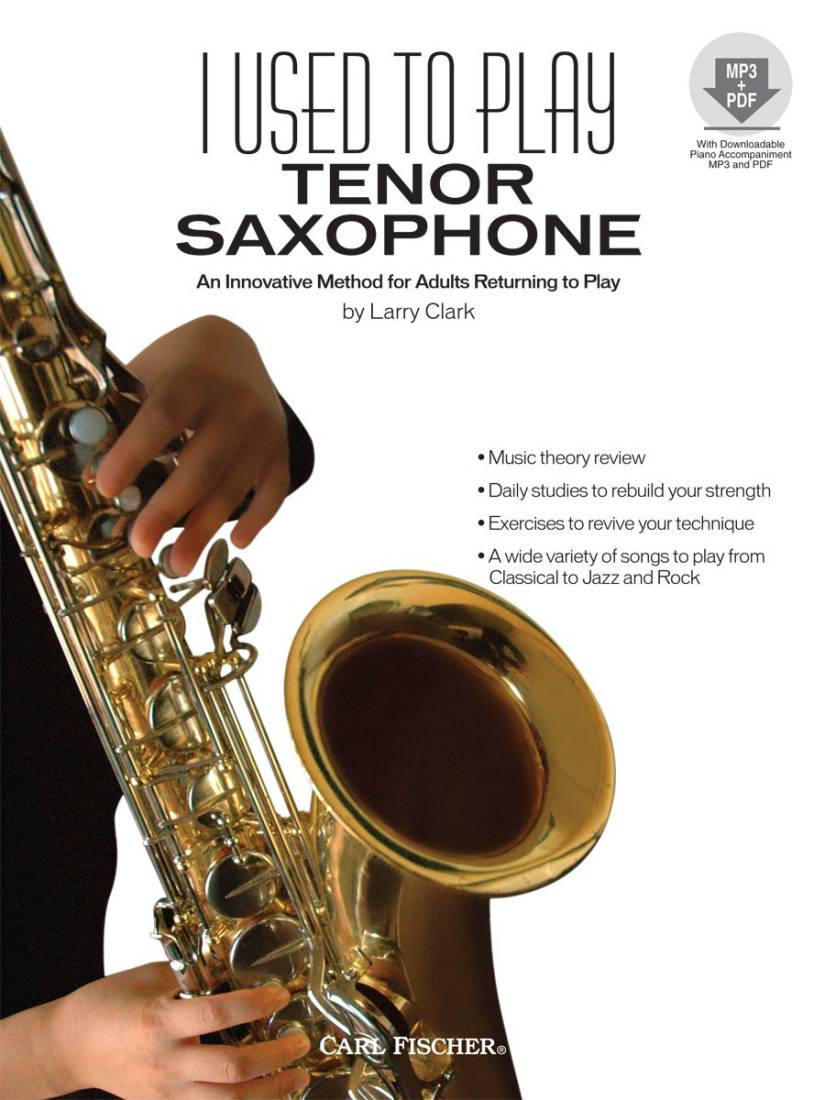 carl fischer i used to play tenor saxophone - clark - book/media