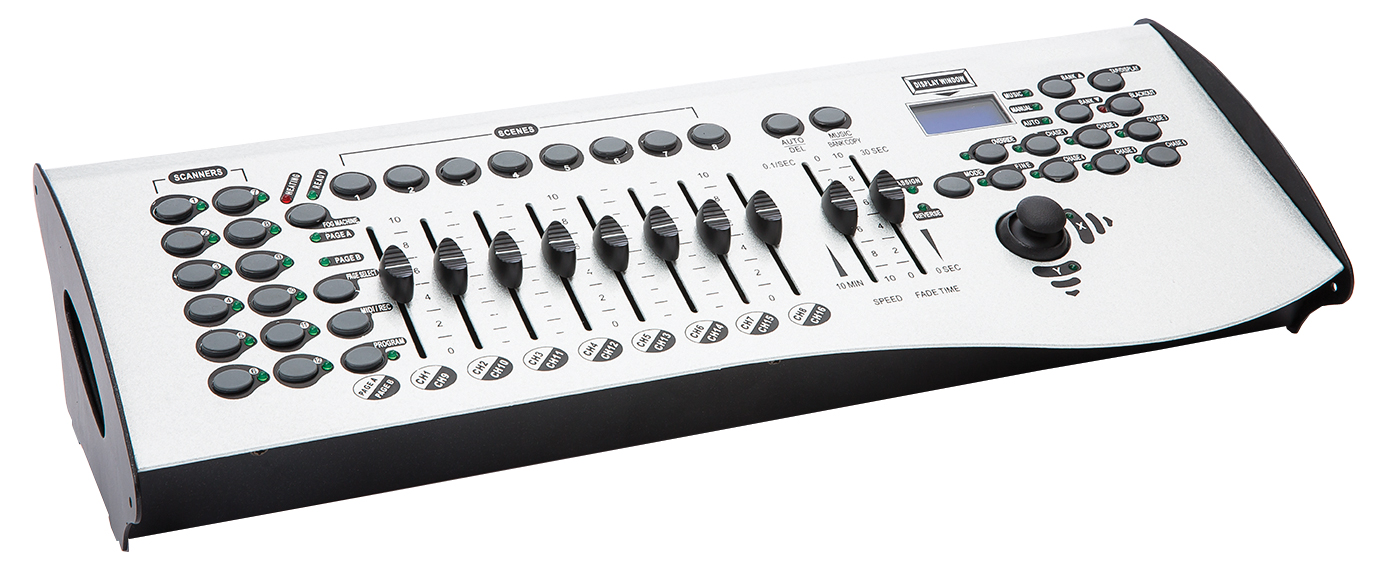 orion 16 channel dmx lighting controller long mcquade