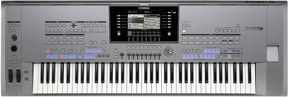 Yamaha Tyros 5 76 Key Arranger Workstation Long