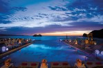 Breathless Cabo San Lucas Resort & Spa - Champagne Pool Party at night