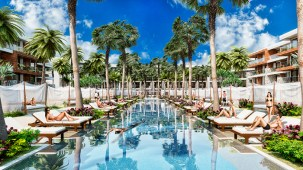 Breathless Riviera Cancun Resort & Spa - Activities - Pool View