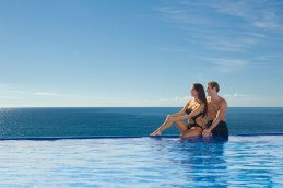 Dreams Los Cabos Suites Golf Resort & Spa - Activities - The free-flowing swimming pool at Dreams Los Cabos featuring the Manatees swim-up bar