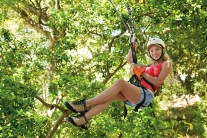 Dreams Las Mareas Costa Rica - Activities - Zip-line activity. *Available as an off-property tour or excursion, sponsored by AMStar. Additional costs apply