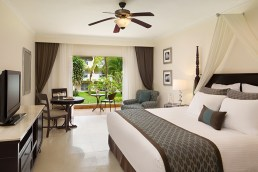 Dreams Palm Beach Punta Cana - Accommodations - Preferred Club Deluxe Tropical View King*. *Only select rooms will have this bedding style