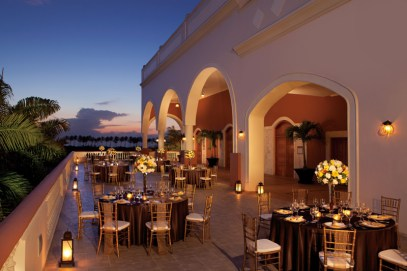 Dreams Punta Cana Resort & Spa - Weddings - Himitsu Terrace Gala Dinner