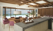 Dreams Playa Mujeres Golf & Spa Resort - Accommodations - Preferred Club Presidential Suite Ocean Front Dining Area