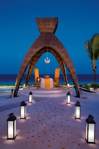 Dreams Riviera Cancun Resort & Spa - Grounds - Romantic Dinner Gazebo