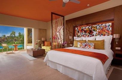 Breathless Punta Cana Resort & Spa - Accommodations - xhale club Junior Suite Swim Up