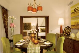 Dreams Palm Beach Punta Cana - Accommodations - The elegantly-decorated dining area in the Presidential Suite