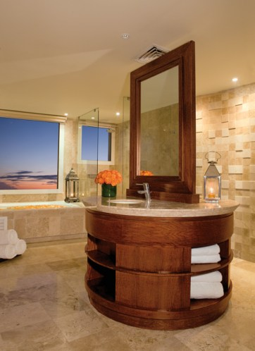 Now Jade Riviera Cancun - Accommodations - Governors Suite Bathroom