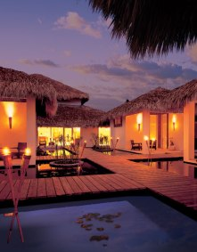 Dreams Punta Cana Resort & Spa - Activities - Spa Dock at Night