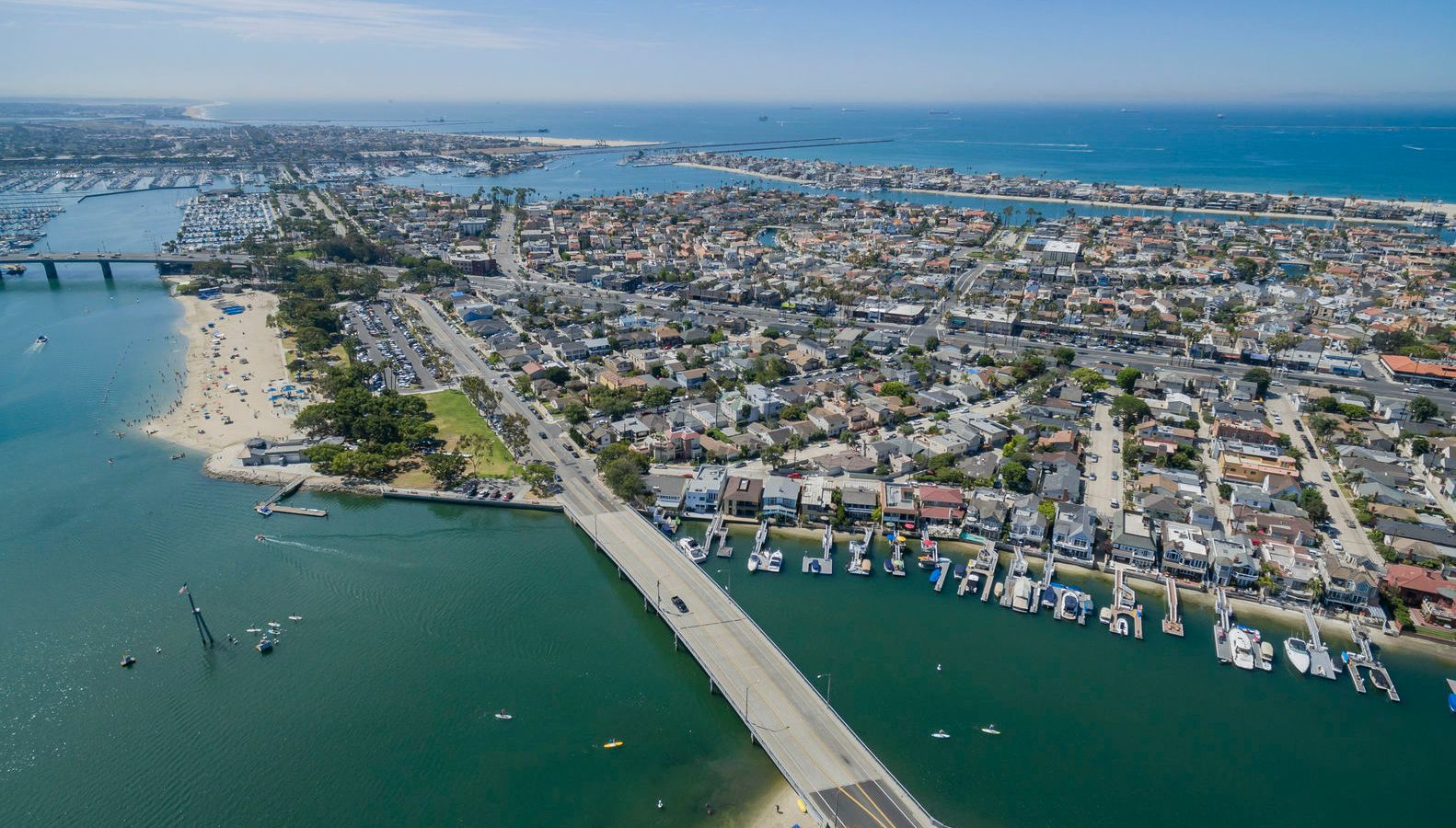 Ariel Photo of Long Beach California