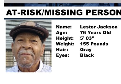 Update Located: Police seek public's help locating critical missing person Lester Jackson