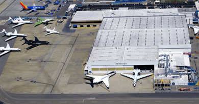 Long Beach Airport Prepares Gulfstream Space for Lease