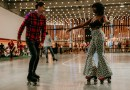 Pop-up roller rink skates into Long Beach