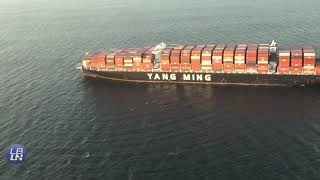 Historic Backlog of Cargo Ships at the Port of Long Beach