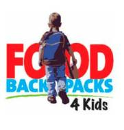 food backpacks 4 kids