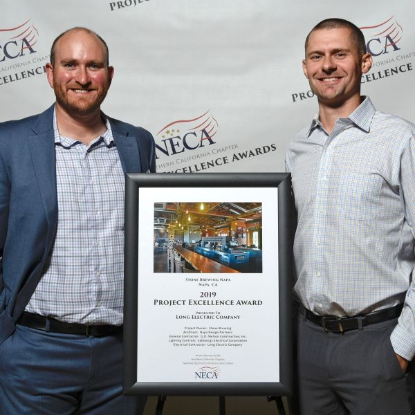 Tom Long receives a 2019 Project Excellence Award